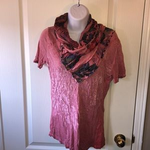 Desigual Short Sleeved Top. EUC
